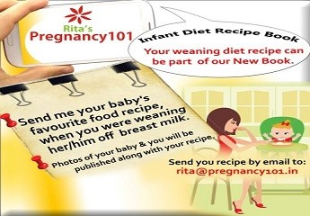 New Weaning Diet Book – Your Recipes Invited