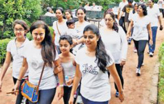 Breastfeeding Awareness Walk: To generate cultural support for moms