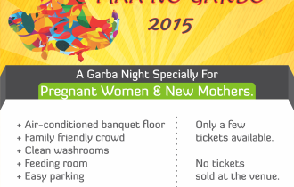 Garba Night For Pregnant Women, New Moms & Families