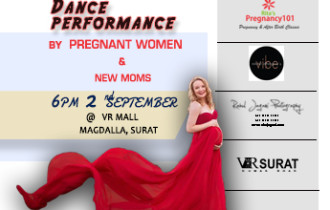 Dance Performance By Pregnant Women in Surat