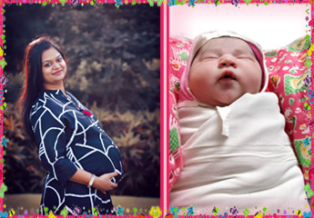 Anisha Agarwal's Birth Story: Thank you for adding positive colours to our journey of parenting