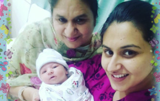 Guneet's Birth Story: Normal birth became a reality thanks to P101