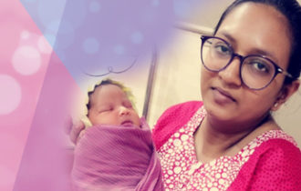 Nidhi Shah's Birth Story: After changing position baby was born in just 3 pushes