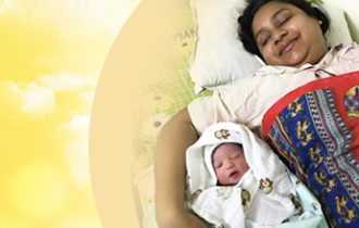 Palak's Birth Story: Baby was ready to come to momma