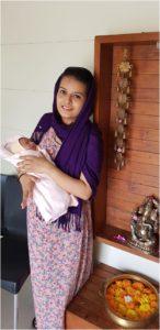 Vaani's birth story