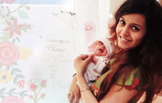 "Vaani's Birth Story: Vaani says ""My husband learnt a lot about pregnancy and his duty while giving birth at P101"""