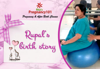 Rupal gave Birth to a baby Girl Normally with 2 Days of Labor at 41 Weeks and one day with full Moral and Physical Support